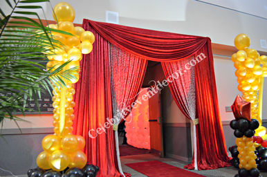 Oscar entrance decor.jpg