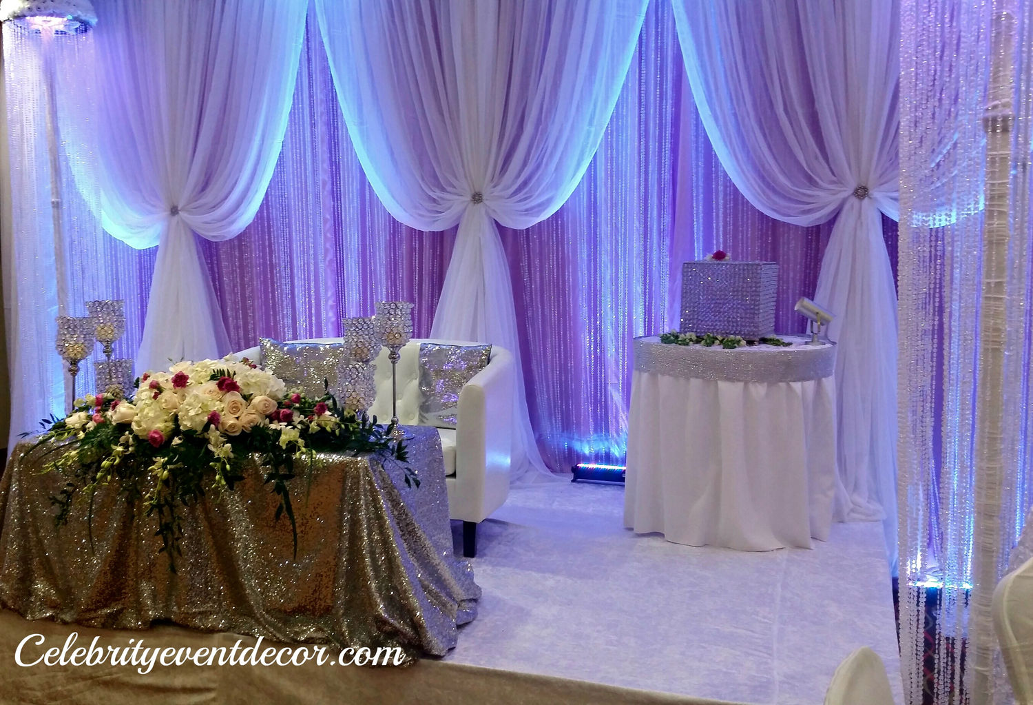 Celebrity event decor banquet hall jacksonville fl for Wedding event decorators