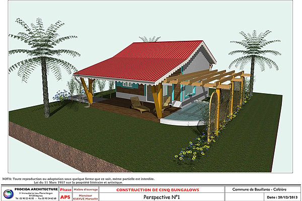 Bungalow Bois Guadeloupe : Construction bungalow bois guadeloupe