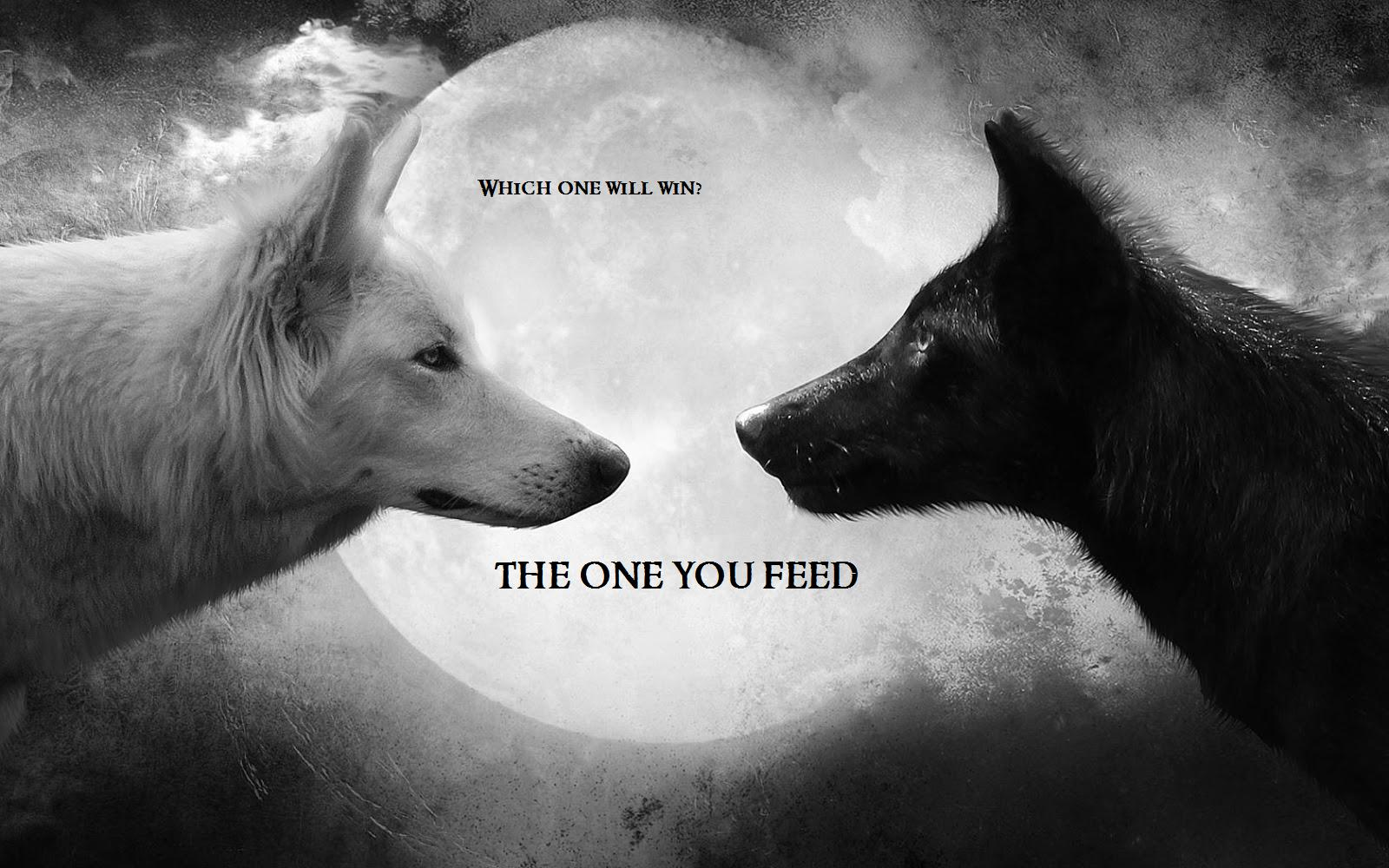 With Depression, the Wolf You Feed Is the Wolf That Wins pictures