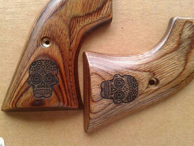 Personalized gun grips