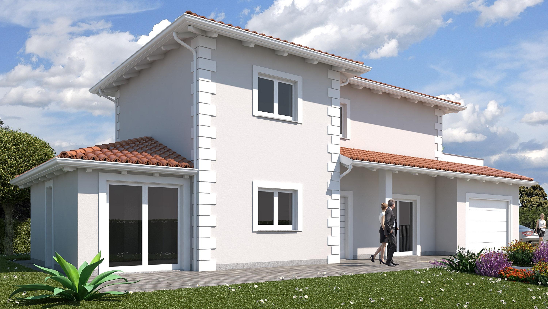 Villaggio ideale ideal villa stile classico for Ville stile classico