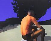 Noon, 2018, Acrylic on canvas, 290.9x218