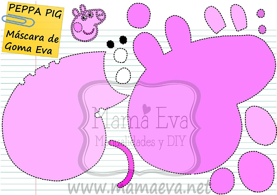 Mamá Eva-plantillas goma eva-plantillas fieltro-scrapbook-découpage