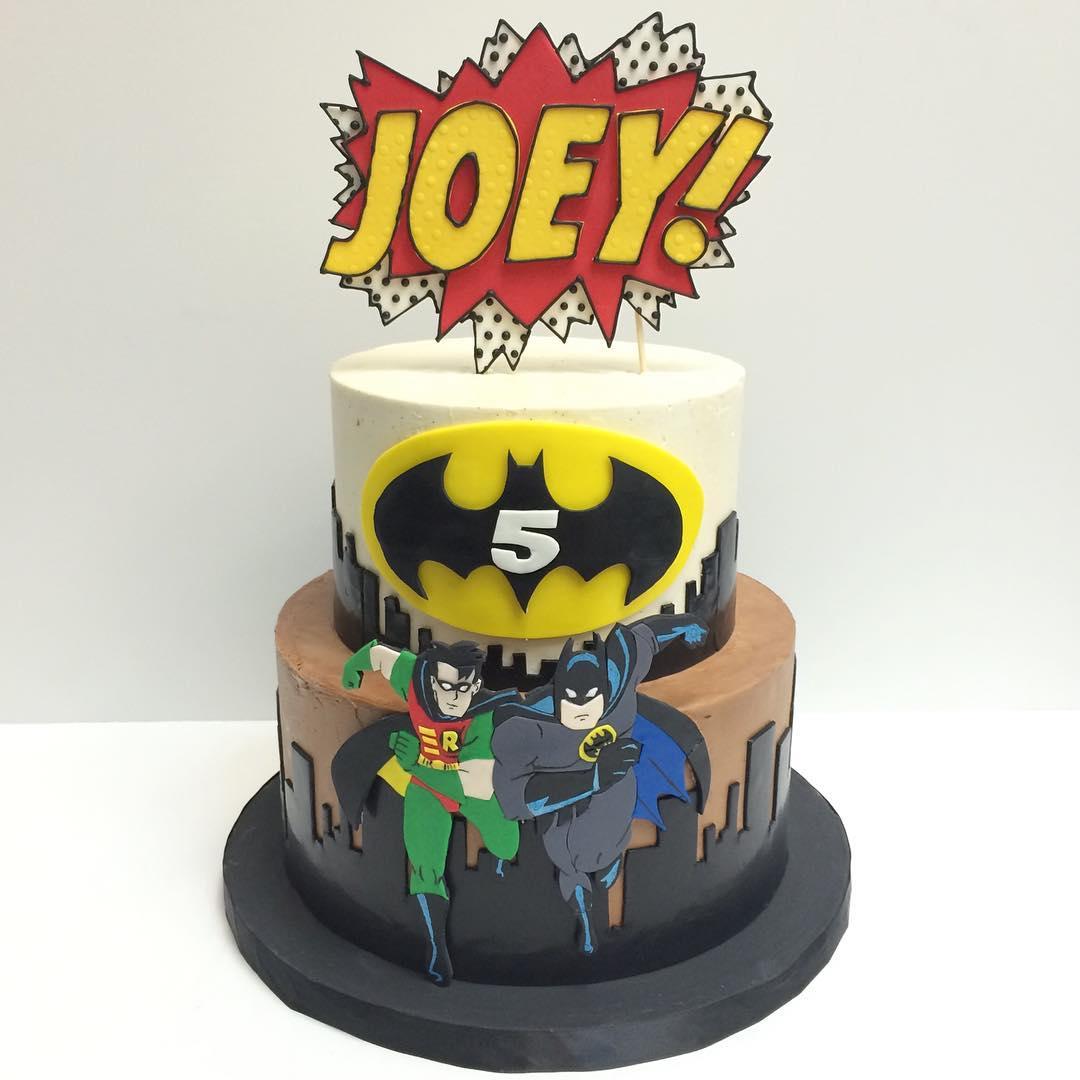 Custom Batman Birthday Cakes