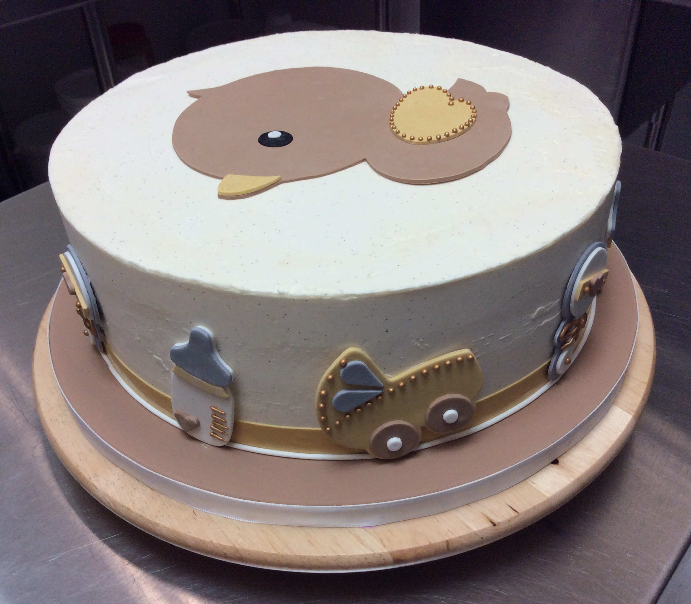 Yummy Cake Art : Custom cakes by Delicious Arts Los Angeles 2D Baby Duck Cake