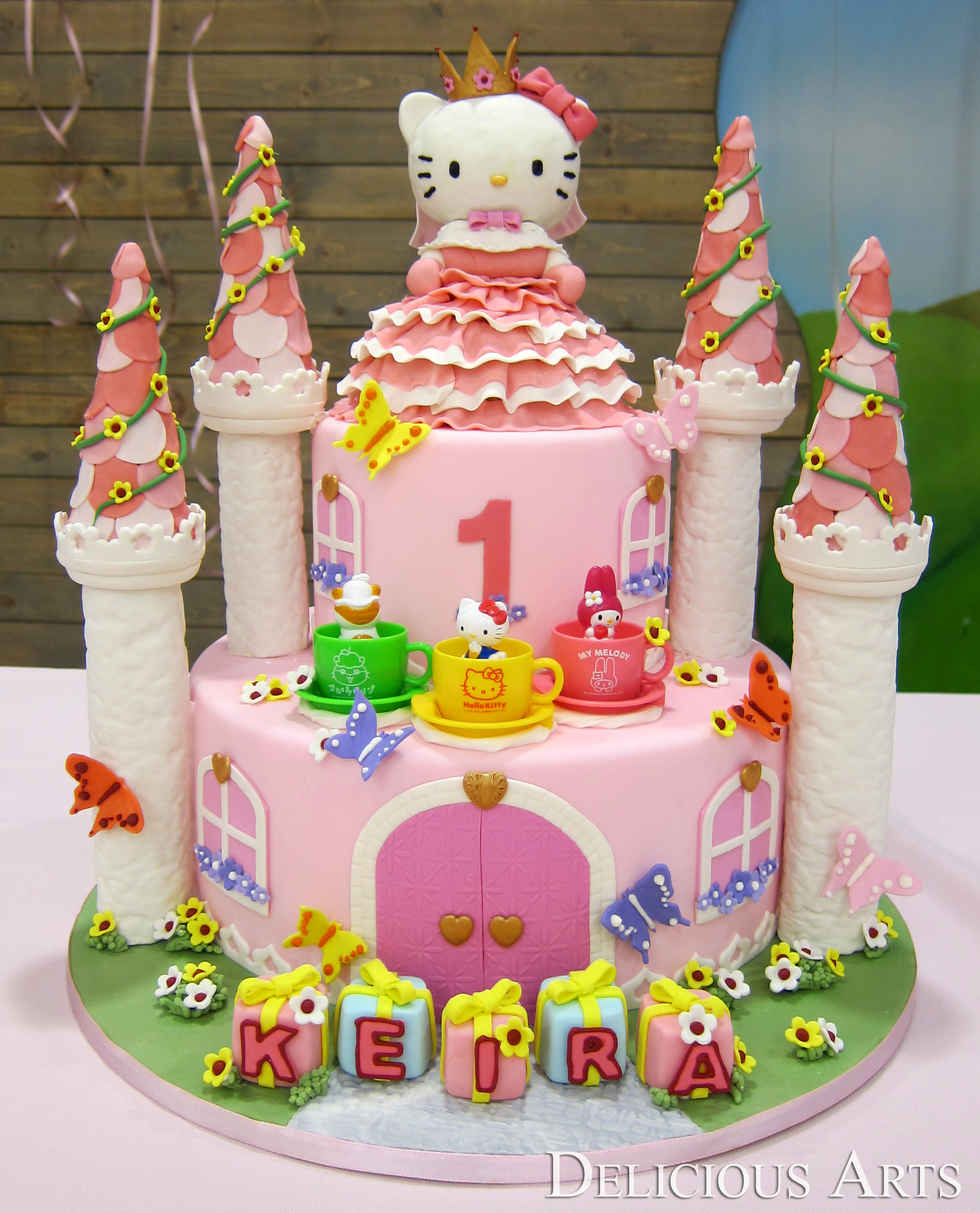 How To Make A D Hello Kitty Cake