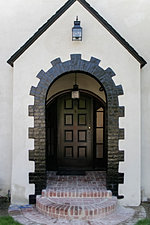Exterior House Entry