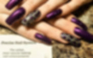 Purple nails - Precise Nails