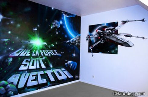 D co chambre star wars d co sphair for Chambre star wars