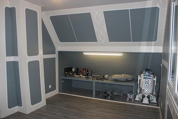 d co chambre star wars. Black Bedroom Furniture Sets. Home Design Ideas