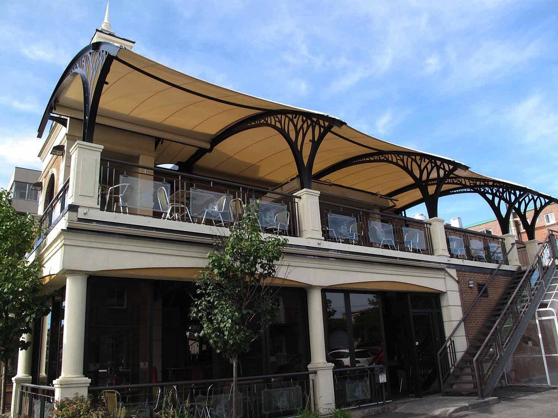 Abritez vous chez nous couverture de terrasse et for Architecture textile