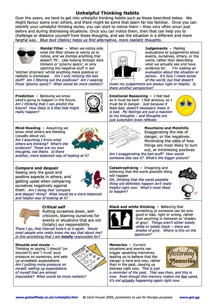 Worksheets For Adhd : Tools worksheets behavior charts adhd