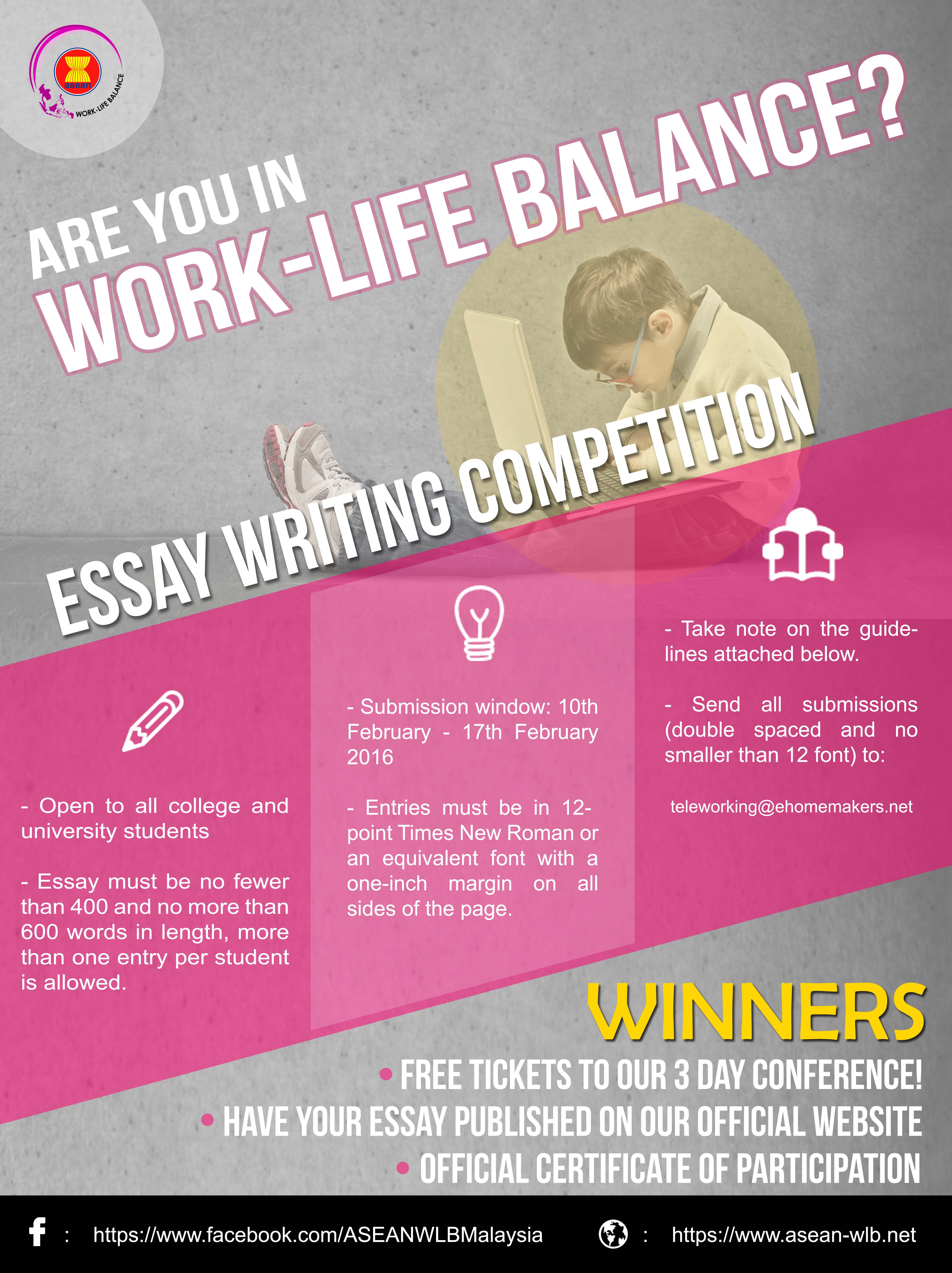 Balancing Work And Play Essay
