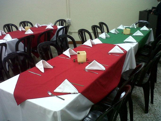Cocina y mas banquetes a domicilio y asesorias for Mobiliario y equipo
