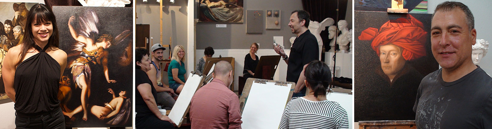 Kline academy of fine art art classes in los angeles for for Craft workshops los angeles