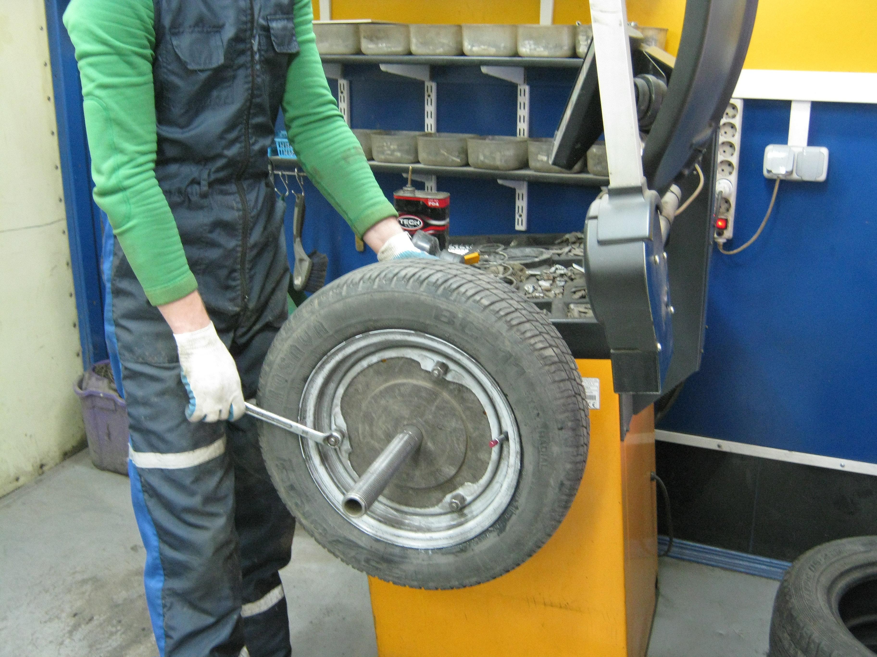Балансировка колес как сделать
