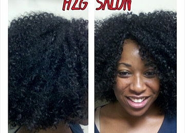 Crochet Hair Invisible Part : Crochet Braids