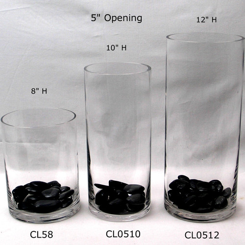 Basic Glass Cylinders Squares And Rectangle Vases