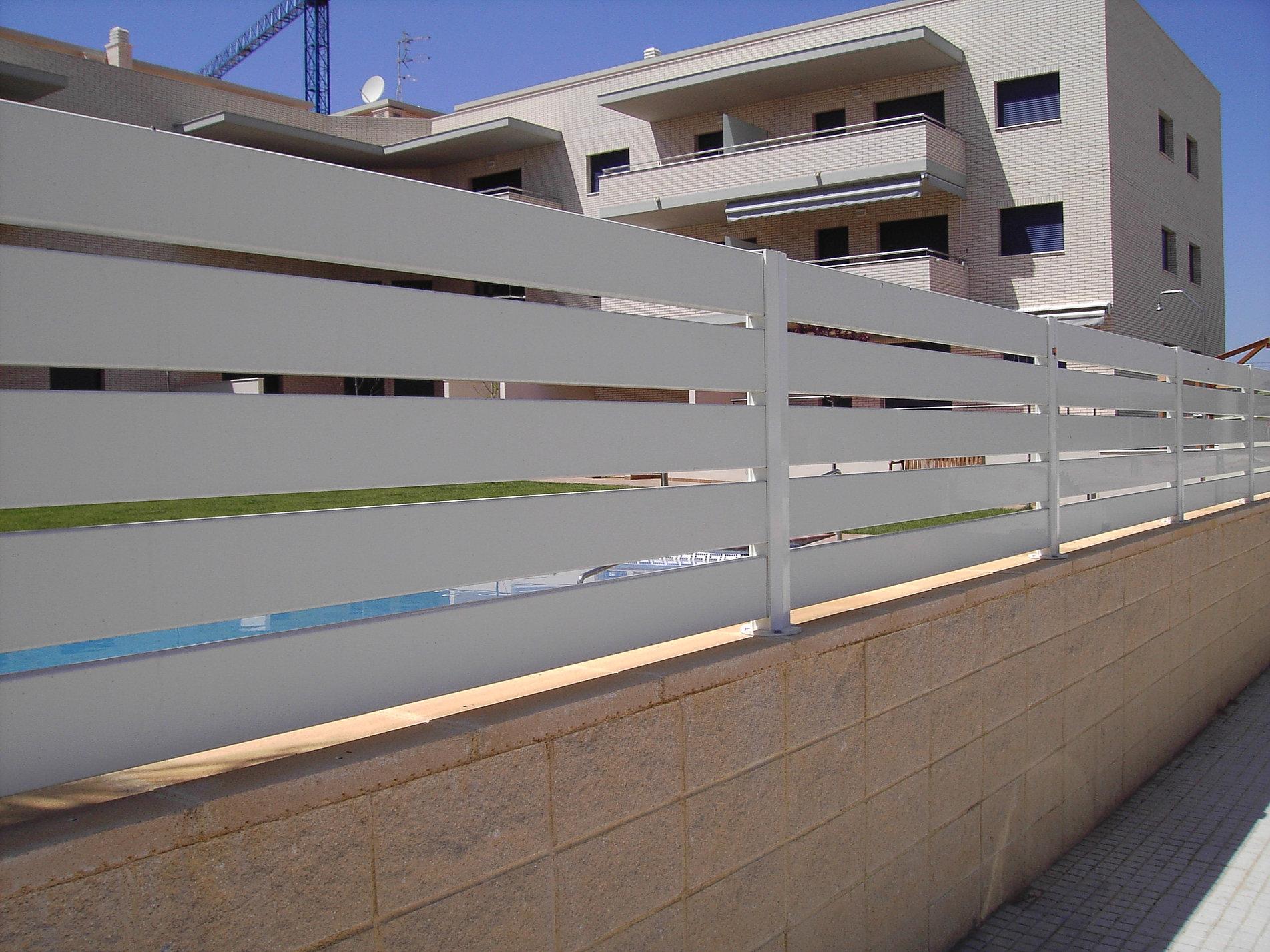 Vallas Metalicas Jardin Precios. Free Good With Vallas Pvc Para ...