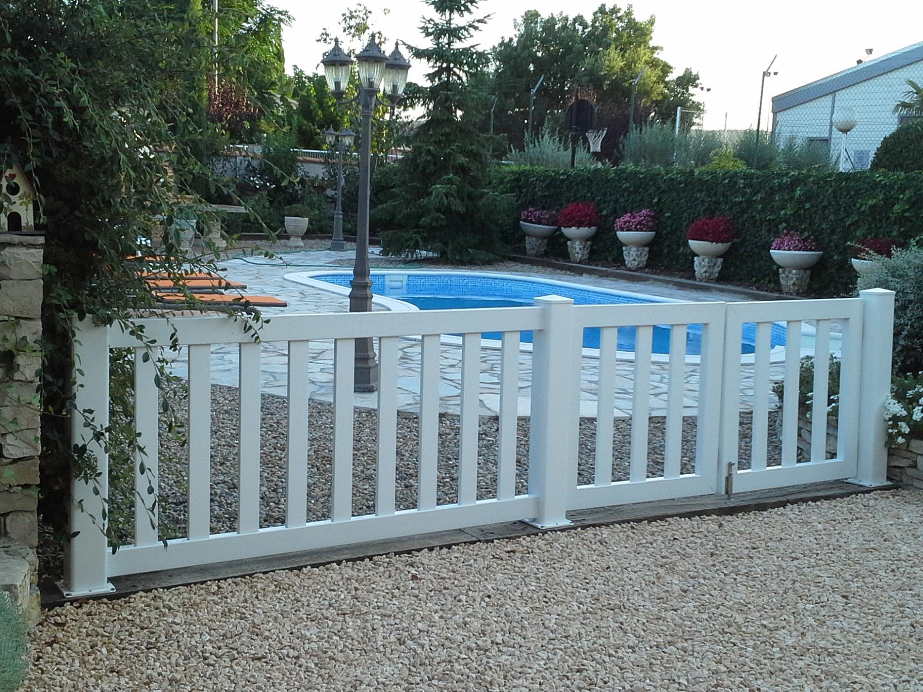 Vallas madera para jardin top vallas de pvc para jardin - Vallas para jardin ...