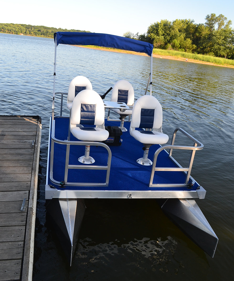 New diy boat here pontoon electric boat for Electric motor for pontoon boat