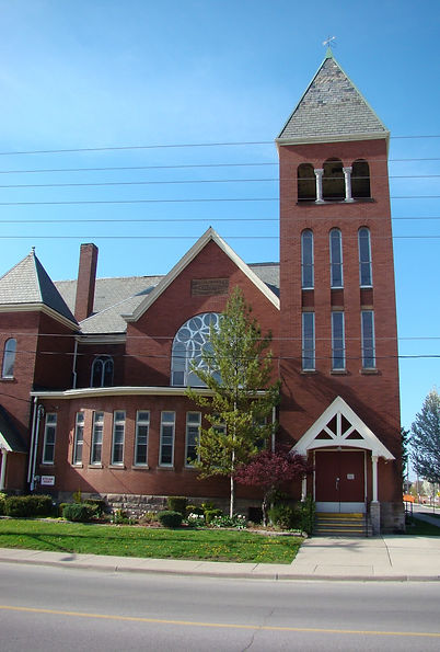 Central UC Church Building