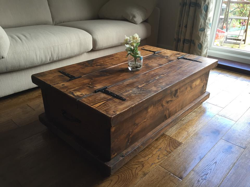 Rustic Chest Coffee Table New Forest Furniture