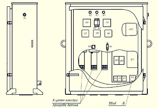 Шкаф управления КТПТО-80-11-У1