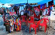 Vendeur de maillots, Salvador, BR