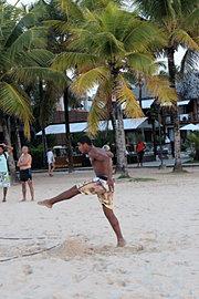 Jeune joueur de plage, BR