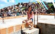 Jeune fille a Salvador de Bahia, BR