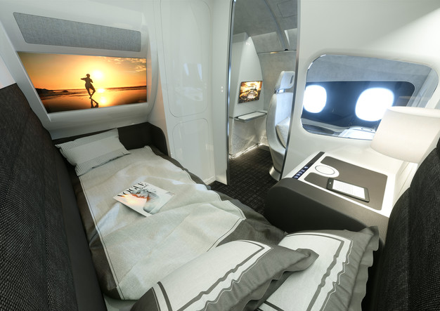 Airbus Interiors Services (AIS), responsible for the interior design and  customization of the company's commercial fleet of aircraft, has unveiled a  new ' ...