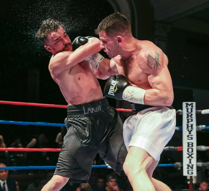 Murphys Boxing Signs U S Marine Veteran And Undefeated