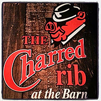 Image result for charred rib at the barn