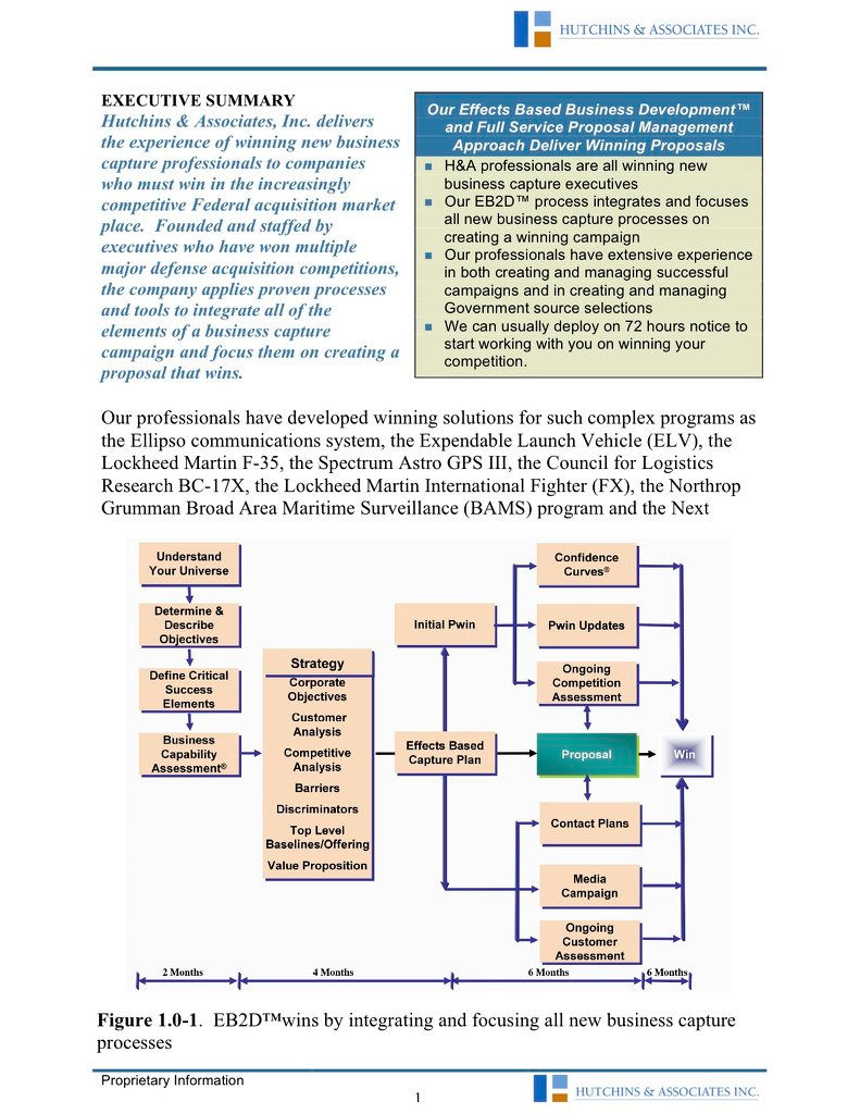 Proposal and business capture services | page-3