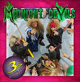 3D In Your Face Midnight Devils