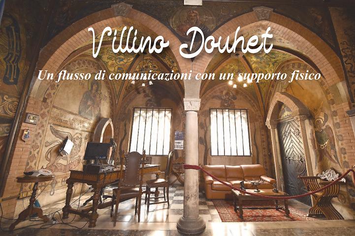 Copertina del libro - Villino Douhet