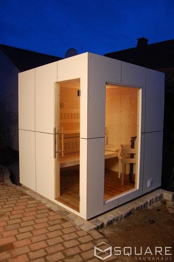 Square box sauna preis