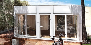 saunahaus square xxl ihr gro es saunahaus edel und. Black Bedroom Furniture Sets. Home Design Ideas