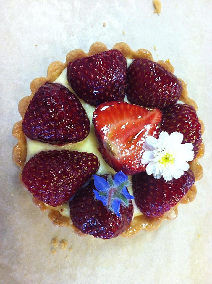 Strawberry Tart Pastry Cream Strawberry Pastry Cream Tart