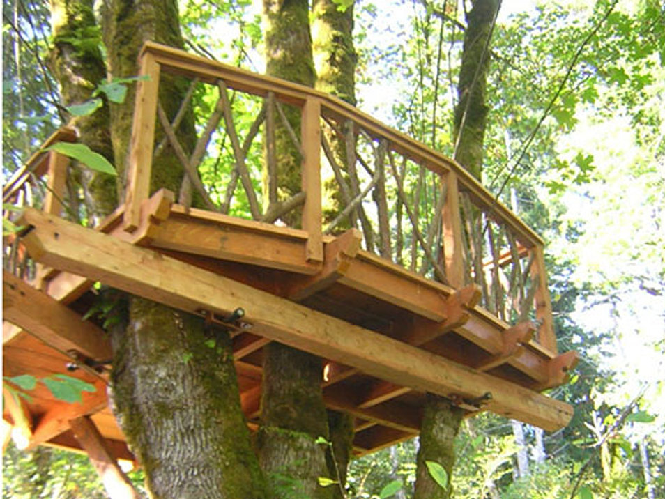 Backyard Treehouse Builders : Treehouses  Custom Treehouse Builders in Humbolt