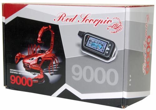 автосигнализация красный скорпион автозапуск выбор