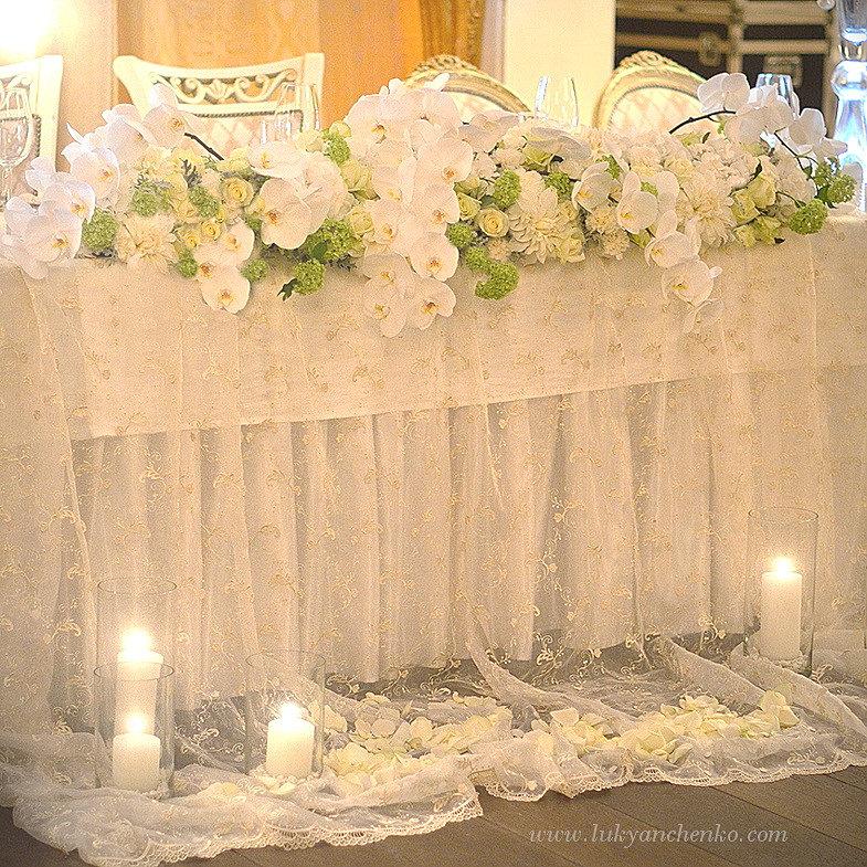 Оформление свадьбы цветами цены спб