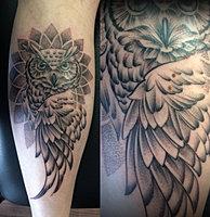 muotokuva tatuointi Hameenlinna