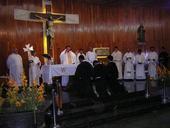 Celebración en el Templo
