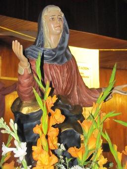 Virgen María - Procesión