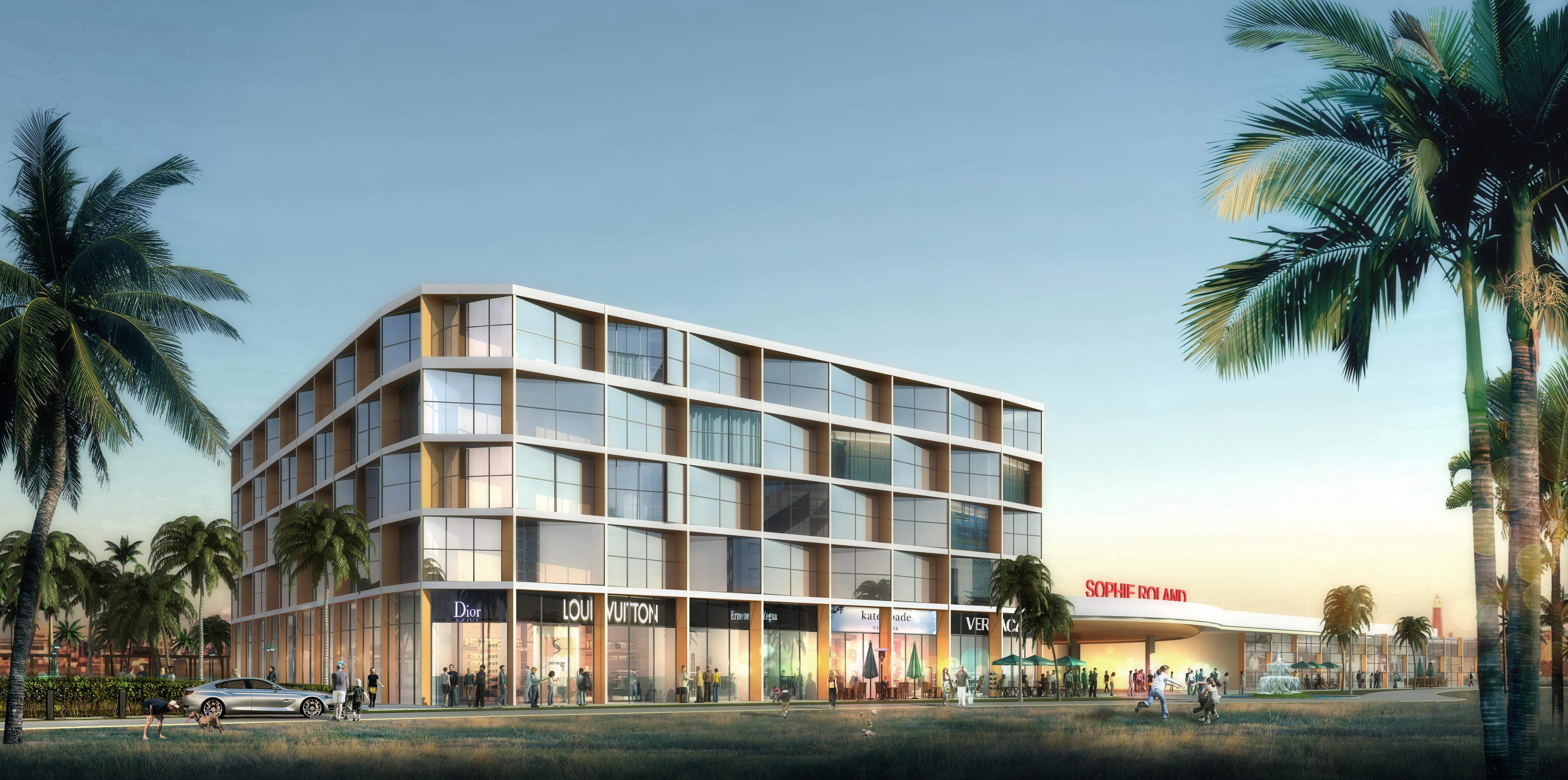 Sophie roland hotel facade design splendid 4d for Design hotel east