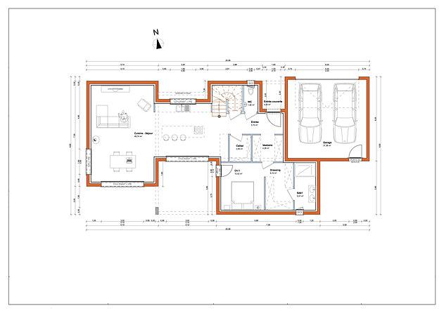 Home Cration  Toit Plat