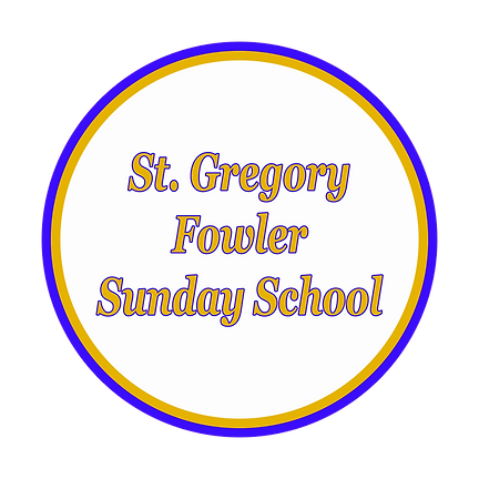 St. Gregory Fowler Sunday School.png